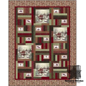 Once Upon A Memory Quilt Kit by Holly Taylor & Antler Quilt Designs  |  Bound in Stitches