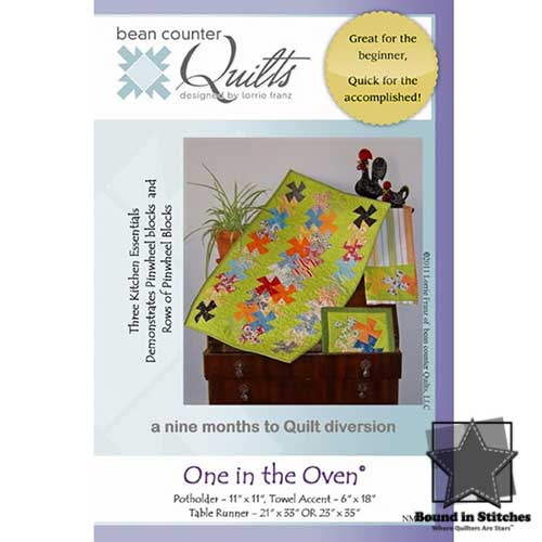 One in the Oven by Bean Counter Quilts