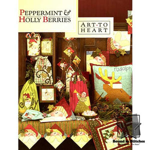 Peppermint & Holly Berries by Art to Heart