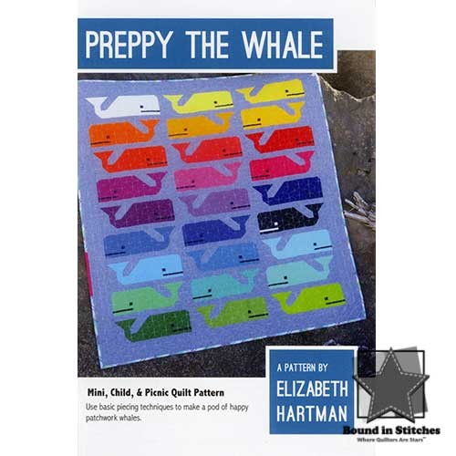 Preppy the Whale by Elizabeth Hartman  |  Bound in Stitches