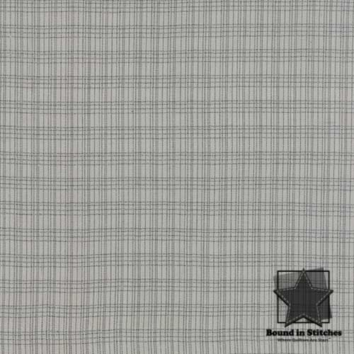 Pure & Simple 12131-34 Soft Gray  by Moda Fabrics  |  Bound in Stitches