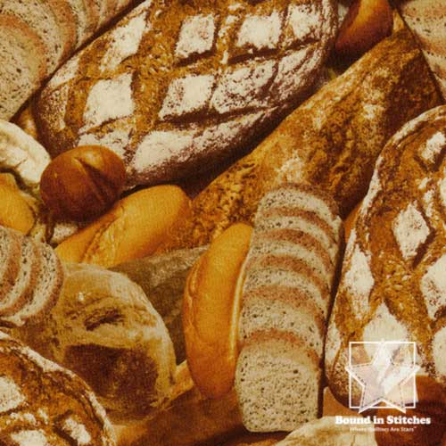 Farmer's Market - Bread Loaves by RJR Fabrics