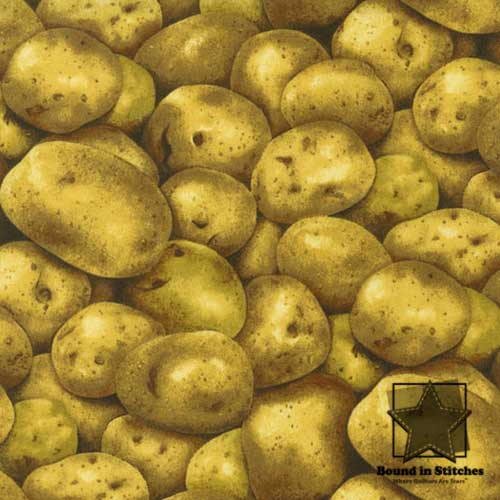 Farmer's Market - Potatoes by RJR Fabrics