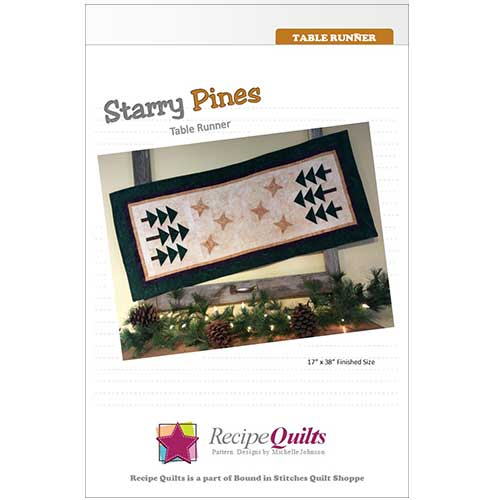 Starry Pines Table Runner
