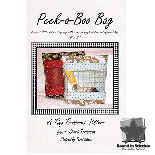 Peek-A-Boo Bag  |  Bound in Stitches