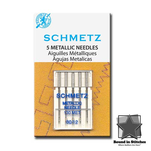 Schmetz Metallica Needles 80/12