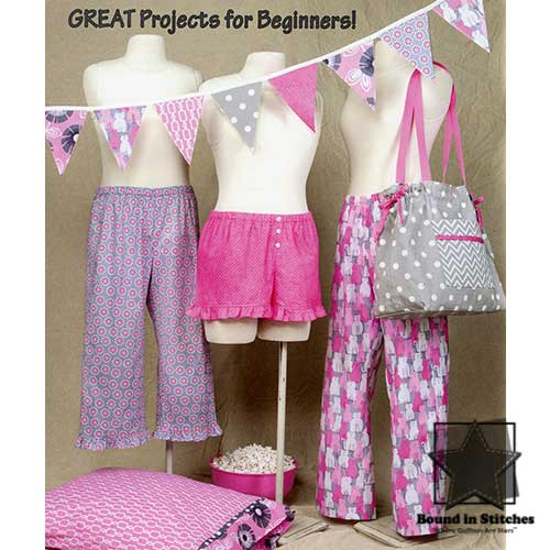 Sew Easy Pajama Pants by Cindy Oates Taylor