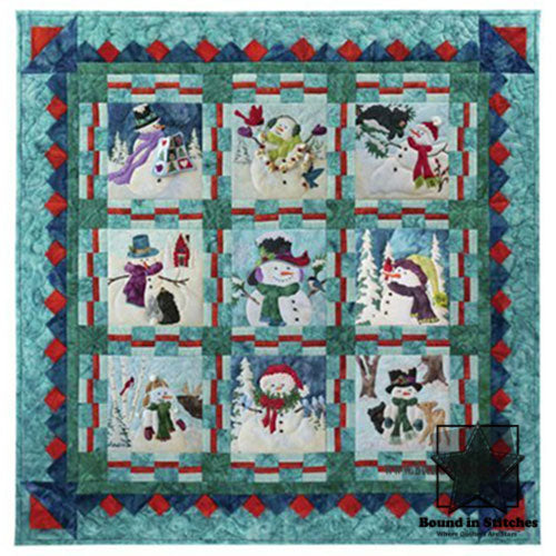 Snow Buds Block of the Month - Begins December 2020
