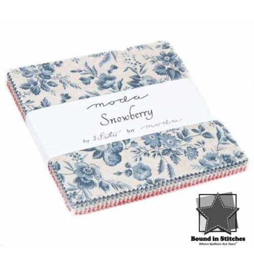 Moda Snowberry Charm Pack by 3 Sisters  |  Bound in Stitches
