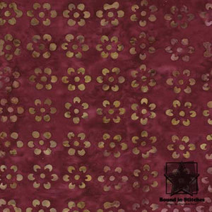Tonga Batik - B2802 Ruby by Timeless Treasures | Bound in Stitches