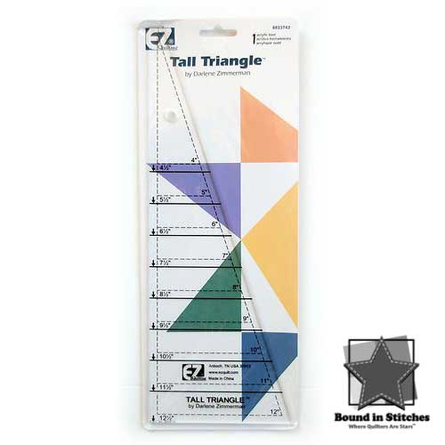 Tall Triangle™ ruler by Darlene Zimmerman  |  Bound in Stitches