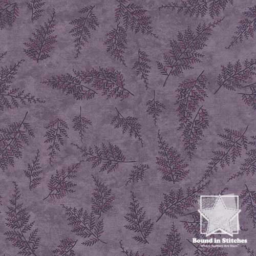 Moda The Potting Shed 6624-16 Violet Leaf by Holly Taylor