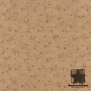 Moda The Potting Shed 6625-17 Sand Petite Buds by Holly Taylor