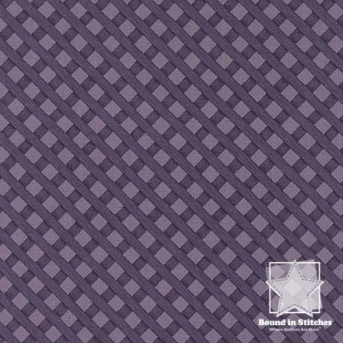 Moda The Potting Shed 6627-16 Lattice Violet by Holly Taylor
