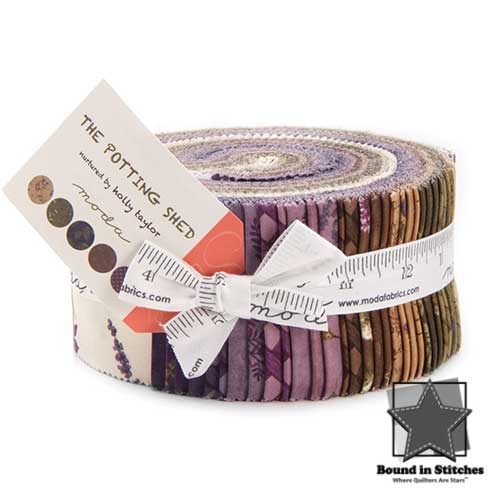 Moda The Potting Shed Jelly Roll by Holly Taylor