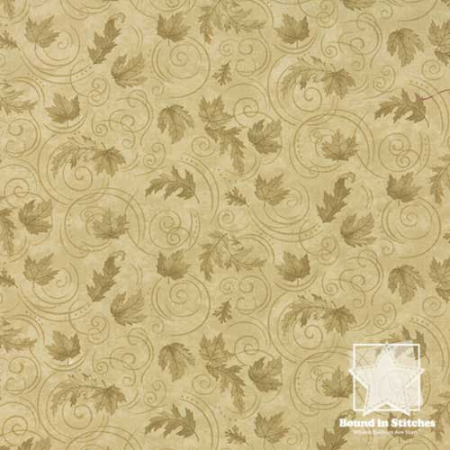 Moda Turning Leaves 6574-21 Tonal Off White  |  Holly Taylor