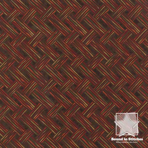 Moda Turning Leaves 6575-16 Walnut  |  Holly Taylor