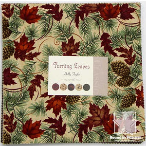 Moda Turning Leaves - Layer Cake  |  Bound in Stitches
