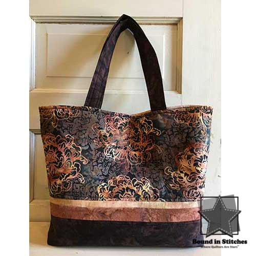 Tuscany Tote Kit - Dijon  |  Pattern by Pink Sand Beach Designs