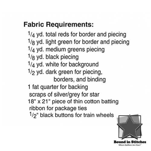 Trim the Tree II | Fabric Requirements