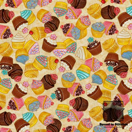 RJR Fabrics What's Cookin' - Cupcakes by Dan Morris