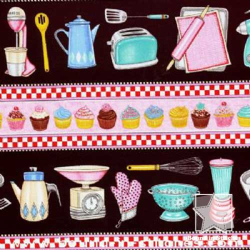 RJR Fabrics What's Cookin' - Kitchen Stripe by Dan Morris