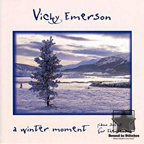 Vicky Emerson - A Winter Moment CD - Piano Solos for the Season