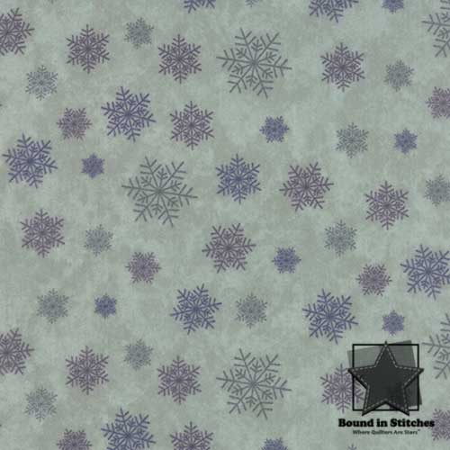Winter Forest Flannel 6604-20F Eucalyptus by Moda  |  Bound in Stitches