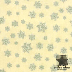 Winter Forest Flannel 6604-21F Cream by Moda  |  Bound in Stitches