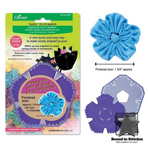 Clover Quick Yo-Yo Maker (Large Flower)