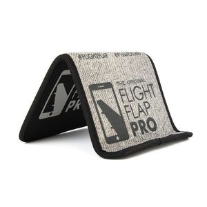 The FLIGHT FLAP Pro - Phone & Tablet Holder for Frequent Flyers