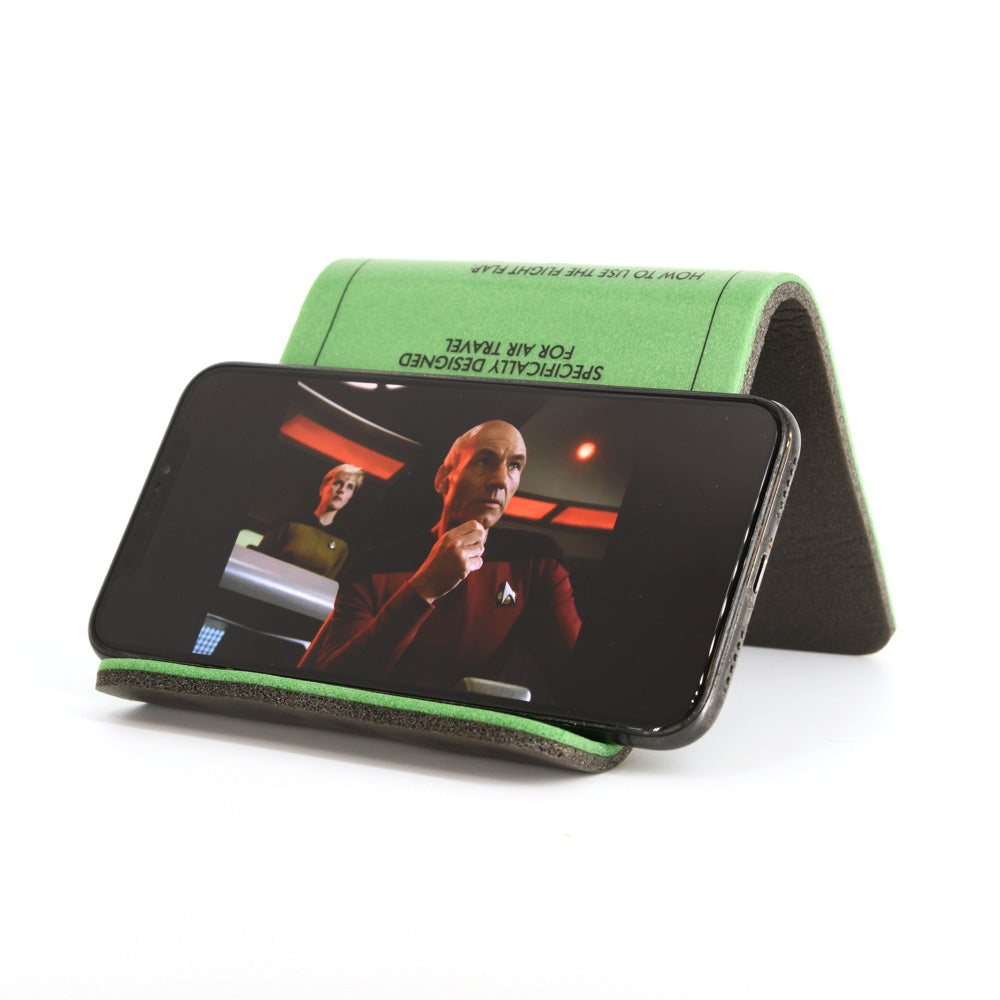 The Original FLIGHT FLAP - Phone & Tablet Holder, Specifically Designed for Air Travel (Buy 2 or More for FREE SHIPPING!)