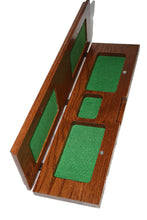 Load image into Gallery viewer, Custom Made Wood Cribbage Board. Continuous 4 track. Engraved.