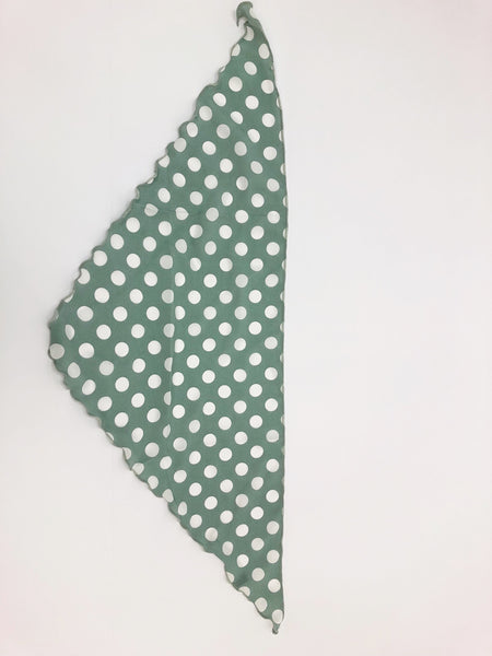 SPOTTY BANDANA // MINT