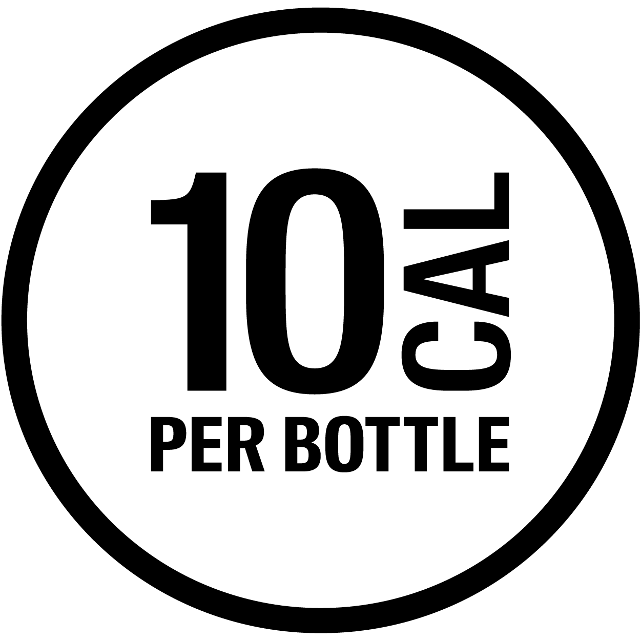 10 Calories Per Bottle icon