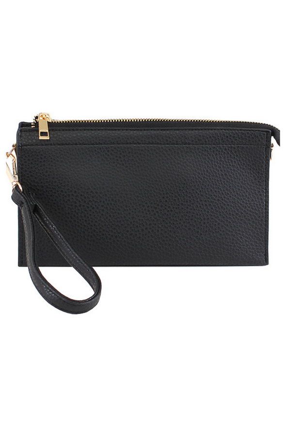 Abby Crossbody Handbag - Black