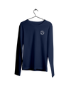 True Navy IBIN Long Sleeve Pocket Tee