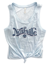 Light Blue Nashville Tank
