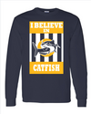 Catfish Navy Long Sleeve