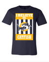 Catfish Navy Short Sleeve
