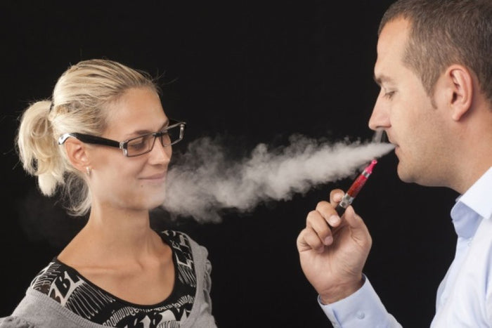 Study Sponsored by Juul shows secondhand vaping emissions are much less toxic than cigarette smoke.
