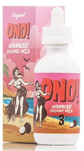 ONO! Strawberry Coconut Milk (60ML)