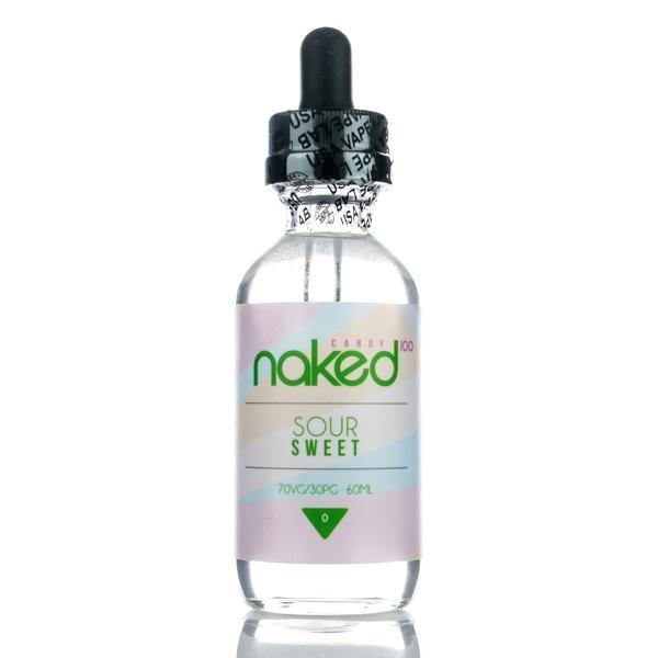 Naked100 - Green Lemon (Sour Sweet) (60ML) E-juice Brands Naked100 0mg