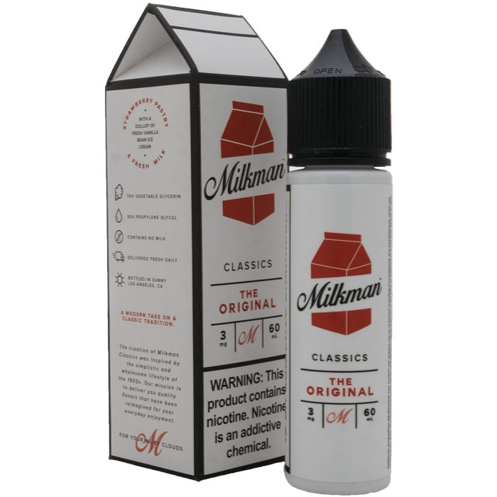 The Milkman - Original (60ML) E-juice Brands The Milkman 3mg