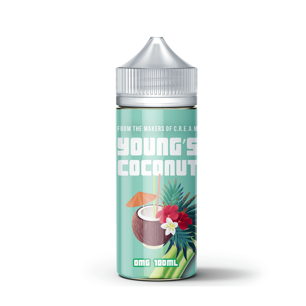 Young's Coconut (100ML) E-juice Brands Young's Coconut 0mg