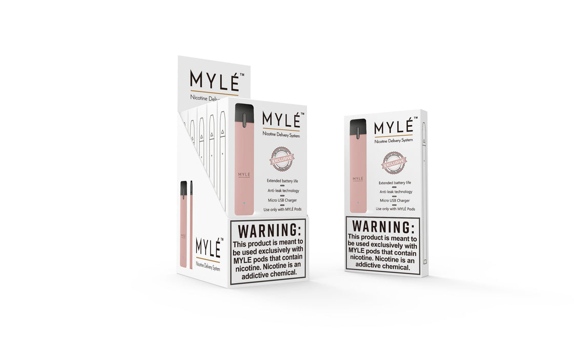 Myle Device Closed Pod System Myle Rose Gold