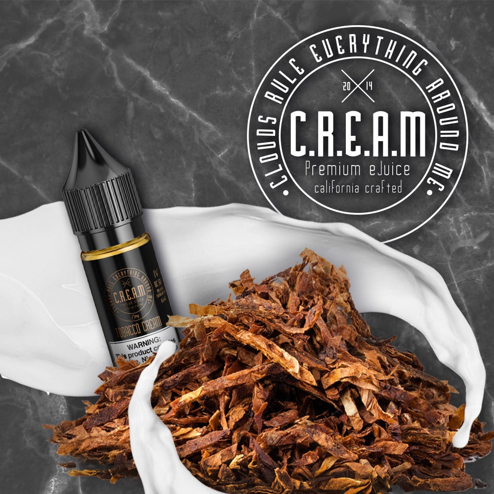 C.R.E.A.M - IV Tobacco [Nic Salt] (16.5ML)