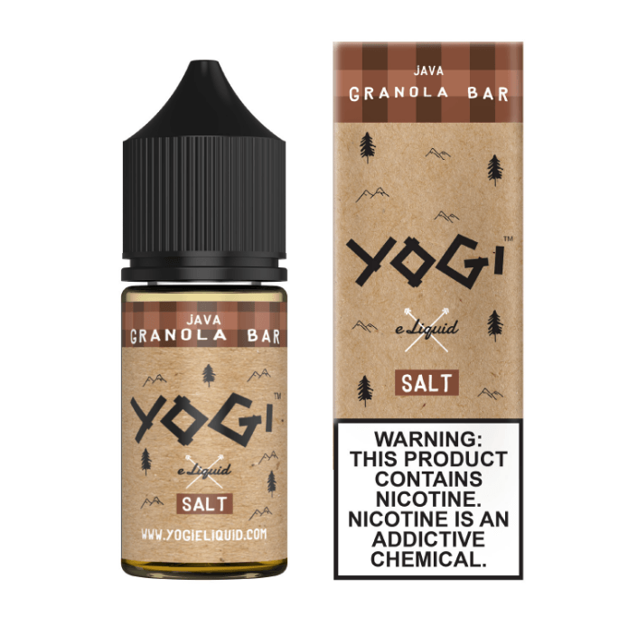 Yogi Salts - Java [Salt Nic] (30ML) E-juice Brands Yogi [Salt Nic] 35mg