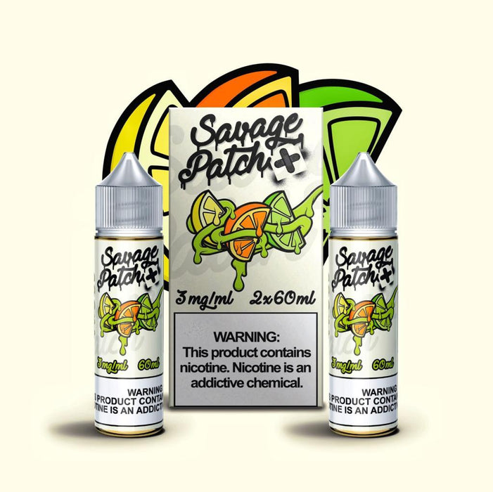 Savage Patch - OG Patch (120ML) [2x60ML] E-juice Brands Savage Patch 0mg
