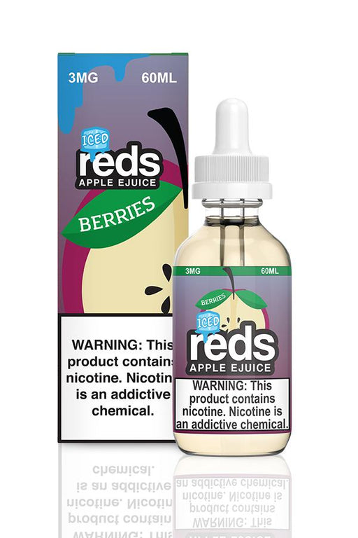 Reds Apple - Berries ICED (60ML) E-juice Brands Reds Apple E-Juice 0mg